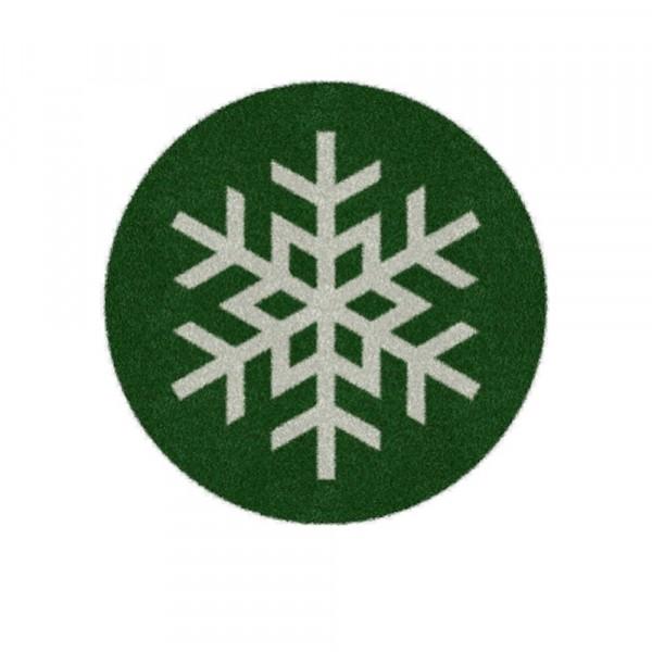 Weihnachtsbaumdecke 'Schneeflocke' 100cm