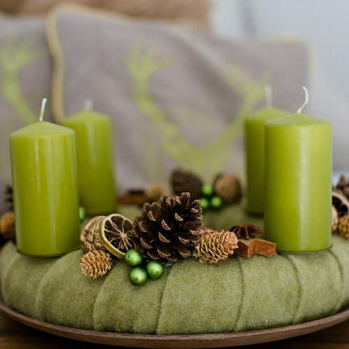 """Weihnachtskranz """"Grünes Filzchen"""""""