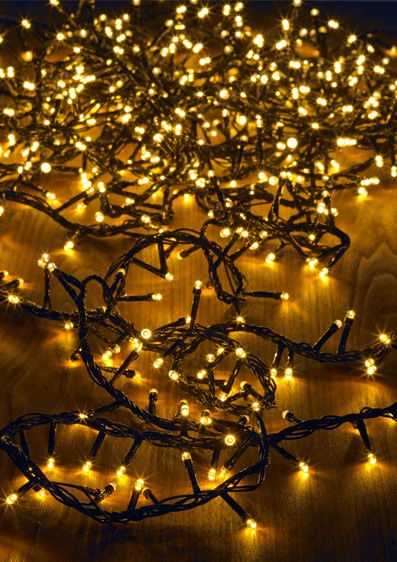 Premium LED Clusterkette für Innen und Außen