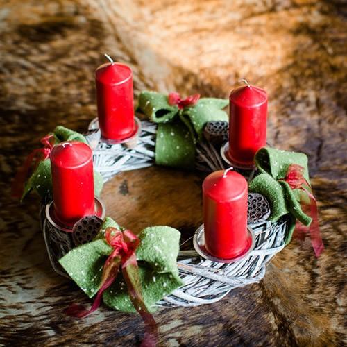 """Weihnachtskranz """"Rot-Grüner"""""""