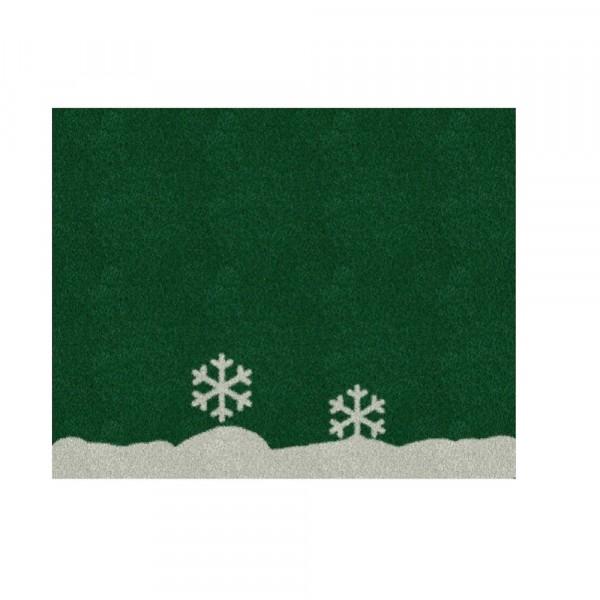 Weihnachtsbaumdecke 'Winter' 125x100cm